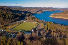 Luftaufnahme Sportplatz (2020) © Simon Löwe